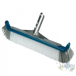 Wall brush for swimming pools, fixing wing nuts