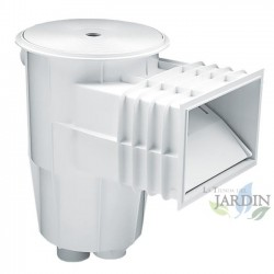 Skimmer 15 litres white mouth standard and circular lid