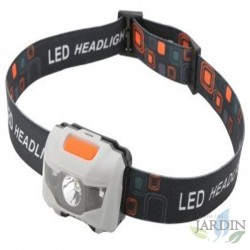 Head torch 1 Led 3W 140 Lumen