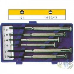 Kit mini destornilladores relojero