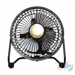 Mini ventilador de sobremesa 15W 10 cm