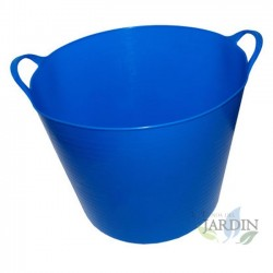 Blue garden carrycot, 35 liters