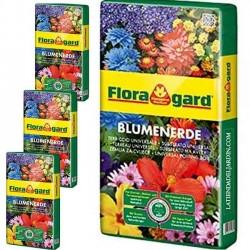 Pack 4 x Sustrato Universal Premium Floragard 70 Litros