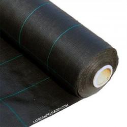 Malla Antihierbas negra 2 x 5 m, 105 gr/m2