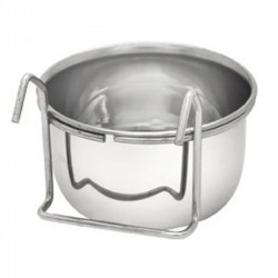 Stainless steel pet bowl...