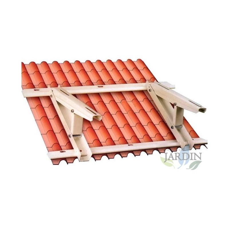 SOPORTE universal AIRE ACONDICIONADO para tejado o suelo inclinado