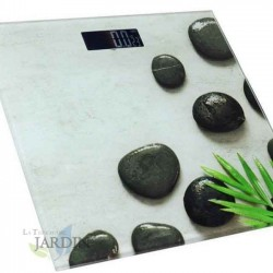 Báscula baño digital de precisión 180 Kg, modelo Piedras