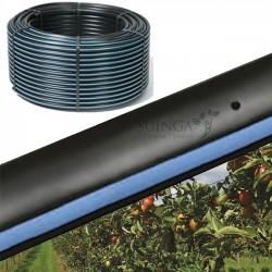 Tubo autocompensante 16mm a 60cm separación por gotero, bobina 400 metros