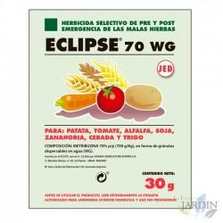 Herbicida Eclipse 70WG, selectivo contra malas hierbas 30 gramos