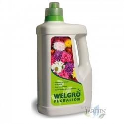 Fertilizante Welgro floración 1 litro. Alto contenido fósforo, hierro y potasio