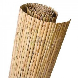 GARDEN split natural REED 1,5 x 5 m, useful for concealment, delimitation or shading.