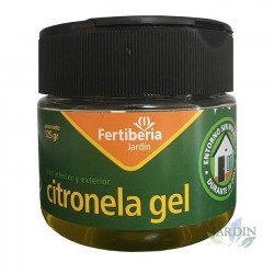 Citronela en gel 125 gr, producto eficaz contra los mosquitos
