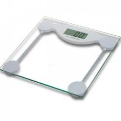 Báscula baño digital cristal transparente 2-150 Kg