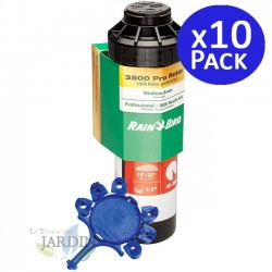 "Pack 10 x Aspersor Rain Bird 3504-PC 1/2"", Alcance 4,6 a 10,7 m"