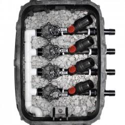 """Electroválvula 3/4"""" 9V LFV bajo caudal + Filtro malla 3/4"""" 2 bar"""