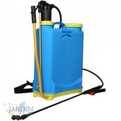 PULVERIZADOR a presión con indicador de nivel 16L MOCHILA pulverizar, sulfatar, regar huerto y jardín