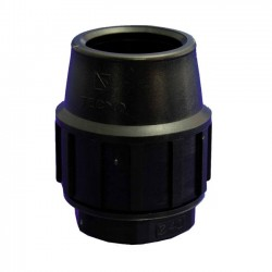 Polyethylene end cap