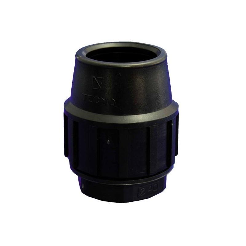Polyethylene end cap