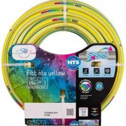"""Garden hose NTS Yellow 19mm 3/4 """"25 meters"""
