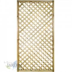 Panel de Celosía recto 45x180 cm, cuadros 4 cm