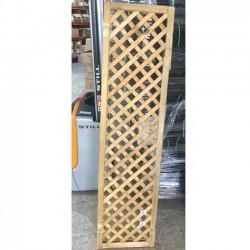Panel de Celosía recto 45x180 cm, cuadros 4 cm con rotura lateral