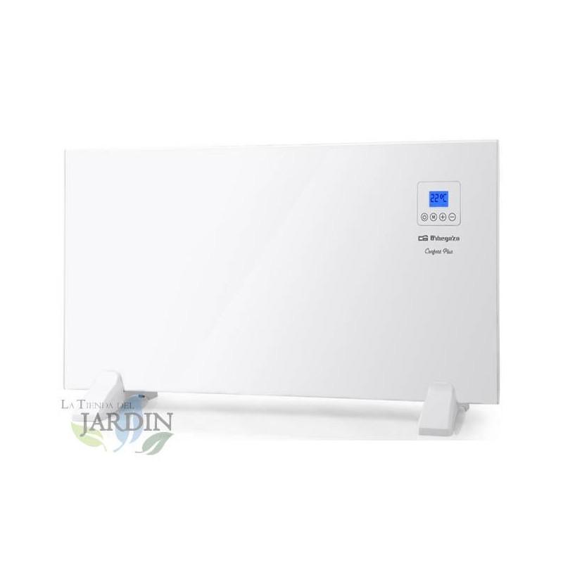 Panel Radiante Orbegozo. Dispay LCD. Control Digital. Potencia: 1500W. 230V. Rango de Temperatura: 7°C – 35°C.