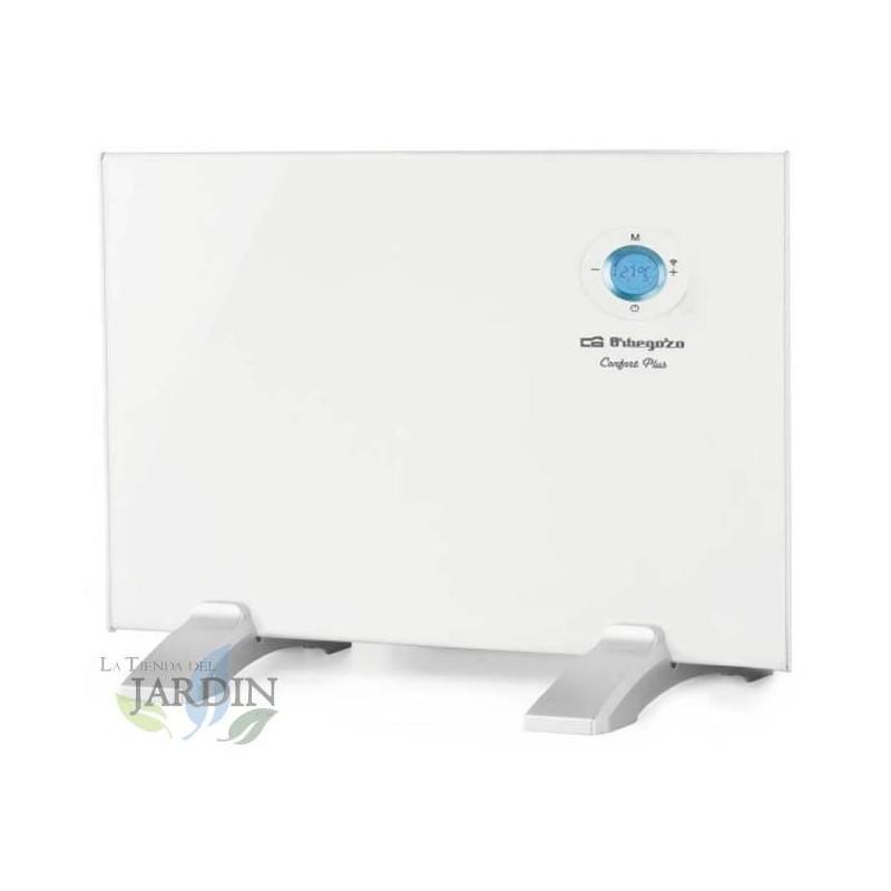 Panel radiante Orbegozo WIFI. Control táctil. Conexión inalámbrica APP. Rango de temperatura: 7ºC - 35ºC. Potencia: 500W.