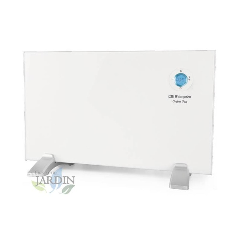 Panel radiante WIFI. Potencia: 1000W. Control táctil. Conexión inalámbrica APP. Rango de temperatura: 7ºC - 35ºC.
