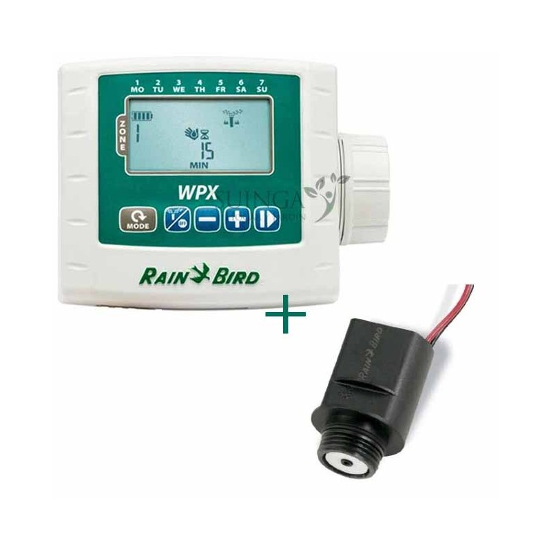Kit Programador WPX1 + Solenoide 9V latch Rain Bird