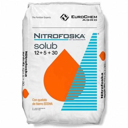 Abono soluble Nitrofoska 12-5-30, 25 Kg