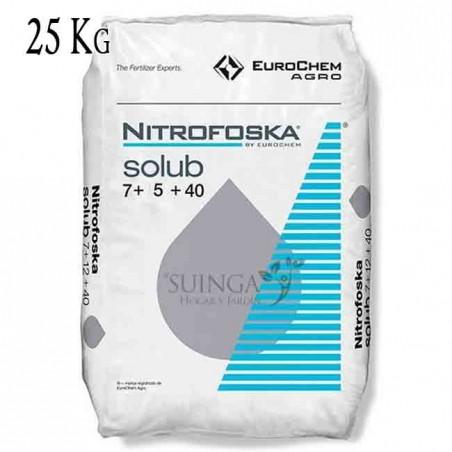 Abono soluble Nitrofoska 7-5-40, 25 Kg