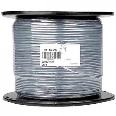 Cable eléctrico flexible 1 x 1,5 mm2, bobina 500 mts