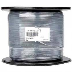 Flexible electric cable 1 x 1.5 mm2 PVC, coil 500 mts