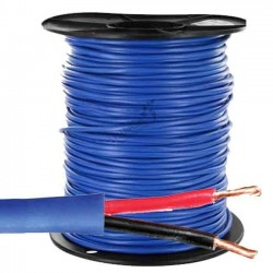 Electric cable 2 x 2.5 mm2, coil 500 mts