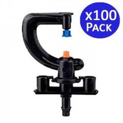 Microaspersor irrigation 360°. 100 units
