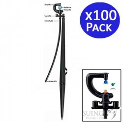 Microaspersor irrigation 360 ° to jets with a stake. 100 units