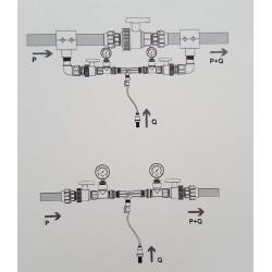 """Inyector venturi de fertilizante 32Ø 1"""" regulable"""