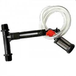 "Inyector venturi con caudalimetro 50Ø 1 1/2"" regulable"