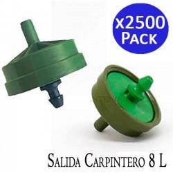 Gotero Netafim 4 l/h autocompensante salida carpintero. 2500 unidades