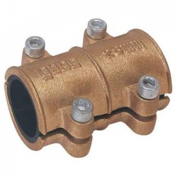 Tapping for copper pipes