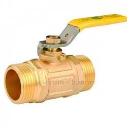Llave de paso palanca para gas