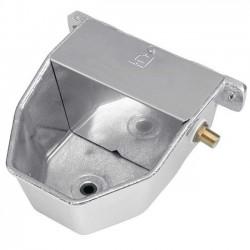Bebedero aluminio para perros 18x22x13 cm alta presión