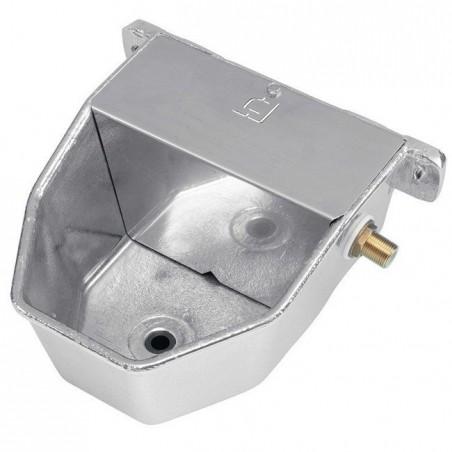 Bebedero aluminio para perros 18x22x10 cm alta presión