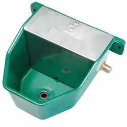 Aluminum drinking fountain for dogs 18x22x13 cm high pressure
