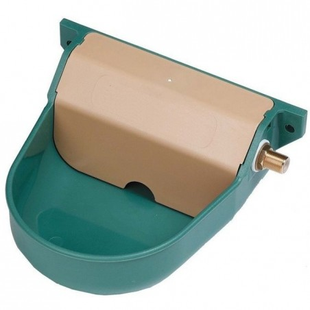 Automatic plastic drinker for dogs 20x22x10 cm