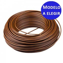 Flexible micro tube 4.5x6.5 mm brown