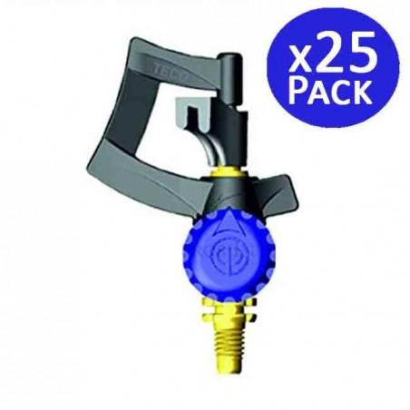 Microaspersor Bailarina 360º alcance regulable. 25 unidades