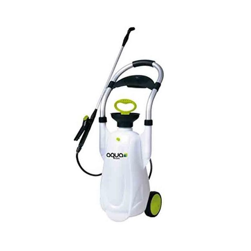 Pulverizador fumigador 12 litros con ruedas y lanza