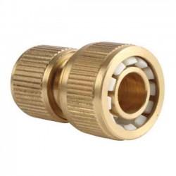 """Conector rápido latón para mangueras 19mm 3/4"""""""