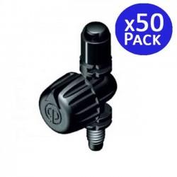 Microaspersor de riego 90º regulable 0-3 mts. 50 unidades